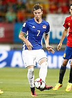 Liechtenstein's Marcel Buchel during FIFA World Cup 2018 Qualifying Round match. September 5,2016.(ALTERPHOTOS/Acero)
