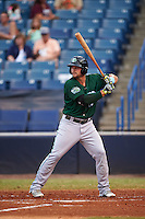 Daytona Tortugas center fielder Brian O'Grady (12) at bat during a game against the Tampa Yankees on August 5, 2016 at George M. Steinbrenner Field in Tampa, Florida.  Tampa defeated Daytona 7-1.  (Mike Janes/Four Seam Images)