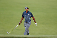 Tiger Woods (USA) plays the 16th hole during the first round of the 118th U.S. Open Championship at Shinnecock Hills Golf Club in Southampton, NY, USA. 14th June 2018.<br /> Picture: Golffile | Brian Spurlock<br /> <br /> <br /> All photo usage must carry mandatory copyright credit (&copy; Golffile | Brian Spurlock)