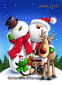 Roger, CHRISTMAS SANTA, SNOWMAN, WEIHNACHTSMÄNNER, SCHNEEMÄNNER, PAPÁ NOEL, MUÑECOS DE NIEVE, paintings+++++,GBRM2180,#x#