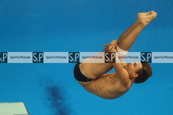 Ruslan Adriano Cristofori (ITA). Men's 3m Springboard Final. Baku Aquatics Centre. Baku2015. 1st European Games. Baku. Azerbaijan. 20/06/2015. MANDATORY CREDIT Dan Chesterton/SIPPA - NO UNAUTHORISED USE - +447837 394578