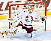 John Muse (BC - 1) - The Boston College Eagles defeated the visiting University of Toronto Varsity Blues 8-0 in an exhibition game on Sunday afternoon, October 3, 2010, at Conte Forum in Chestnut Hill, MA.