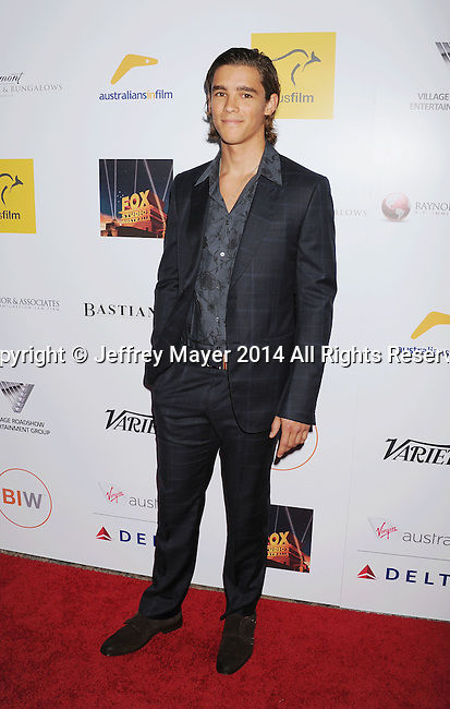 SANTA MONICA, CA- OCTOBER 26: Actor Brenton Thwaites attends the 3rd Annual Australians in Film Awards Benefit Gala at the Fairmont Miramar Hotel on October 26, 2014 in Santa Monica, California.