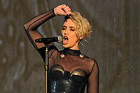 LONDON, ENGLAND - SEPTEMBER 9: Claire Richards of 'Steps' performing at BBC Proms in The Park, Hyde Park on September 9, 2017 in London, England.<br /> CAP/MAR<br /> &copy;MAR/Capital Pictures