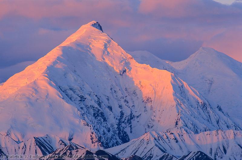 Mount Brooks, Alaska mountain range, Denali National Park, Alaska