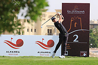 Sean Crocker (USA) in action during round 3, Ras Al Khaimah Challenge Tour Grand Final played at Al Hamra Golf Club, Ras Al Khaimah, UAE. 02/11/2018<br /> Picture: Golffile | Phil Inglis<br /> <br /> All photo usage must carry mandatory copyright credit (&copy; Golffile | Phil Inglis)