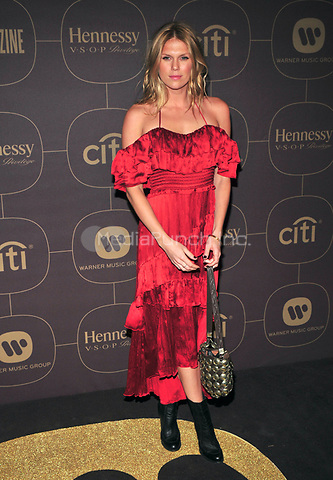 NEW YORK, NY - JANUARY 25: Alexandra Richards at the  Warner Music Group Pre Grammy Celebration at The Grill/The Pool in New York City on January 25, 2018. Credit: John Palmer/MediaPunch