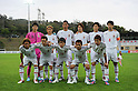 U-23 Japan team group line-up (JPN),.MAY 25, 2012 - Football / Soccer :.Japan team group shot (Top row - L to R) Shunsuke Ando, Takashi Usami, Hiroshi Ibusuki, Daisuke Suzuki, Kazuki Oiwa, Kazuya Yamamura, (Bottom row - L to R) Yusuke Higa, Manabu Saito, Yoshiaki Takagi, Taisuke Muramatsu and Takahiro Ogihara before the 2012 Toulon Tournament Group A match between U-23 Japan 3-2 U-21 Netherlands at Stade de l'Esterel in Saint-Raphael, France. (Photo by FAR EAST PRESS/AFLO)