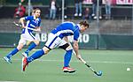 AMSTELVEEN - Ties Ceulemans (Kampong)   tijdens  de  eerste finalewedstrijd van de play-offs om de landtitel in het Wagener Stadion, tussen Amsterdam en Kampong (1-1). Kampong wint de shoot outs.  . COPYRIGHT KOEN SUYK
