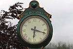 Historic clock City of Revelstoke,