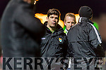 Kerry Manager Eamon Fitzmaurice Kerry vMayo in the National Football league at Austin Stack Park, Tralee on Saturday night.