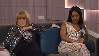 Amanda Barrie &amp; Malika Haqq<br /> Celebrity Big Brother 2018 - Day 1<br /> *Editorial Use Only*<br /> CAP/KFS<br /> Image supplied by Capital Pictures
