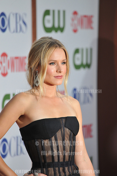 Kristen Bell, star of House of Lies, at the CBS Summer 2011 TCA Party at The Pagoda, Beverly Hills..August 3, 2011  Los Angeles, CA.Picture: Paul Smith / Featureflash