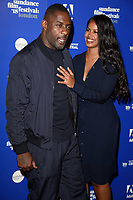 Idris Elba &amp; Sabrina Dhowre  at the &quot;Yardie&quot; premiere as part of the Sundance London Festival 2018, Picturehouse Central, London, UK. <br /> 01 June  2018<br /> Picture: Steve Vas/Featureflash/SilverHub 0208 004 5359 sales@silverhubmedia.com