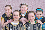 BLOOM: The Rose's team that were blooming marvellous at the Basketball blitz in Currow Community Centre on Sunday were l-r: Vanessa Breen, Sinead Griffin, Megan Fitzgerald, Colleen Breen and Catriona McCarthy.   Copyright Kerry's Eye 2008