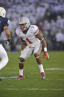27 October 2012:  Ohio State CB Bradley Roby (1). The Ohio State Buckeyes defeated the Penn State Nittany Lions 35-23 at Beaver Stadium in State College, PA.