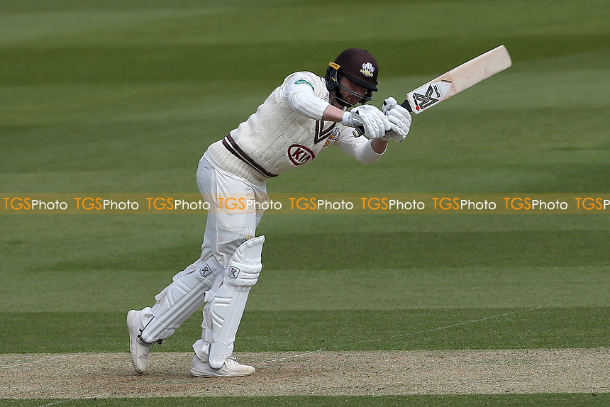 Mark Stoneman hits 4 runs for Surrey during Surrey CCC vs Essex CCC, Specsavers County Championship Division 1 Cricket at the Kia Oval on 11th April 2019