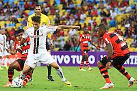 RIO DE JANEIRO, 11.05.2014 - Rafael Sóbis do Fluminense durante o jogo contra Flamengo pela quarta rodada do Campeonato Brasileiro disputado neste domingo no Maracanã. (Foto: Néstor J. Beremblum / Brazil Photo Press)