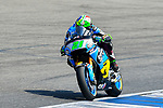 EG 0,0 Marc VDS's rider Franco Morbidelli of Italy rides during the MotoGP Official Test at Chang International Circuit on 16 February 2018, in Buriram, Thailand. Photo by Kaikungwon Duanjumroon / Power Sport Images