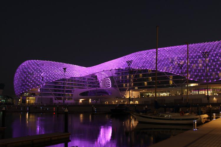 Abu Dhabi F1 Race, Abu Dhabi Hotels, Yas Island, Yas Hotel