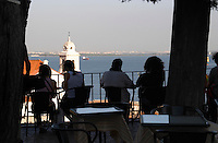 restaurant terrace miradouro viewpoint alfama district lisbon portugal