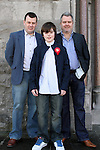 Aaron Lynch with Tomás and Dennis at Congress Avenue and Fatima Confirmation in St.Mary's Church...(Photo credit should read Jenny Matthews www.newsfile.ie)....This Picture has been sent you under the conditions enclosed by:.Newsfile Ltd..The Studio,.Millmount Abbey,.Drogheda,.Co Meath..Ireland..Tel: +353(0)41-9871240.Fax: +353(0)41-9871260.GSM: +353(0)86-2500958.email: pictures@newsfile.ie.www.newsfile.ie.