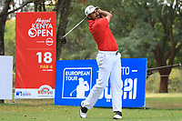 Gaganjeet Bhullar (IND) during the second round of the Magical Kenya Open presented by ABSA played at Karen Country Club, Nairobi, Kenya. 15/03/2019<br /> Picture: Golffile | Phil Inglis<br /> <br /> <br /> All photo usage must carry mandatory copyright credit (&copy; Golffile | Phil Inglis)