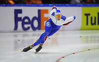 SCHAATSEN: HEERENVEEN: IJsstadion Thialf, 14-02-15, World Single Distances Speed Skating Championships, 1000m Men, Pavel Kulizhnikov (RUS), ©foto Martin de Jong