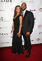 Los Angeles, CA - NOVEMBER 03: Rochelle Aytes, CJ Lindsey at The Vanderpump Dogs Foundation Gala in Taglyan Cultural Complex, California on NOVEMBER 03, 2016. Credit: Faye Sadou/MediaPunch