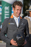 AUS-Christopher Burton and Quality Purdey take 2nd during the Prizegiving for the CCI5*-L. Les 5 Etoiles de Pau. Pyrenees Atlantiques. France. Sunday 27 October. Copyright Photo: Trevor Holt - Kingfisher Media Services