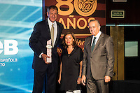 Andres Jimenez during the 80th Aniversary of the National Basketball Team at Melia Castilla Hotel, Spain, September 01, 2015. <br /> (ALTERPHOTOS/BorjaB.Hojas) / NortePhoto.Com