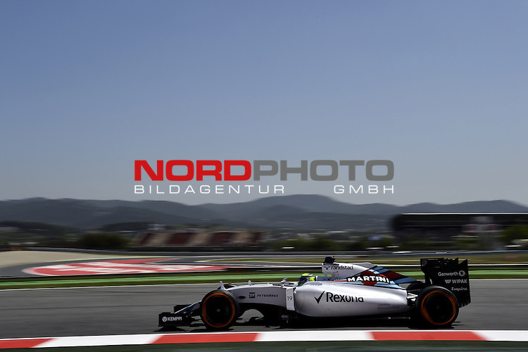 07.05 - 10.05.2015, Circuit de Catalunya, Barcelona, ESP, Formel 1, 2015,  im Bild  Felipe Massa (BRA), Williams GP<br />  Foto &copy; nph / Mathis