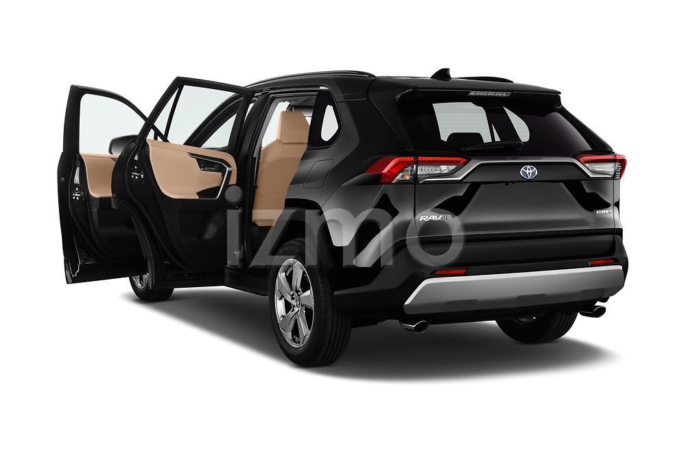 Car images of 2019 Toyota RAV4 Premium-hybrid 5 Door SUV Doors