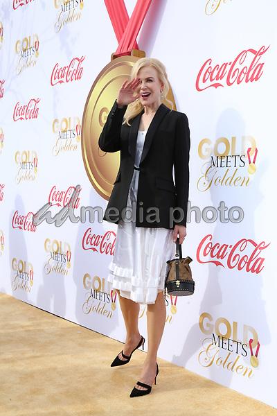 06 January 2018 - Los Angeles, California - Nicole Kidman. 2018 Gold Meets Golden held at The Sunset House. Photo Credit: PMA/AdMedia