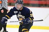Kellen Jones (Quinnipiac - 20) - The visiting Quinnipiac University Bobcats defeated the Harvard University Crimson 3-1 on Wednesday, December 8, 2010, at Bright Hockey Center in Cambridge, Massachusetts.