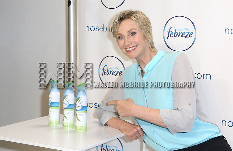 "Jane Lynch launches her hilarious ""Noseblind"" PSA-style video with Febreze & ""Funny or Die"" at Center 548 on July 9, 2014 in New York City."