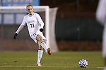 16 November 2012: UNC's Hanna Gardner. The University of North Carolina Tar Heels played the University of Illinois Fighting Illini at Fetzer Field in Chapel Hill, North Carolina in a 2012 NCAA Division I Women's Soccer Tournament Second Round game. UNC won the game 9-2.