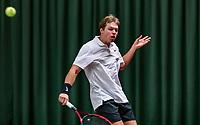 Wateringen, The Netherlands, November 27 2019, De Rhijenhof , NOJK 12 and16 years, Milko Wasserman (NED)<br /> Photo: www.tennisimages.com/Henk Koster