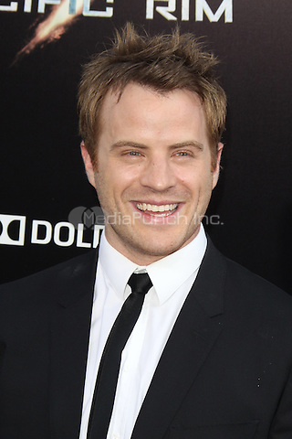 HOLLYWOOD, CA - JULY 9:  Robert Kazinsky at the Pacific Rim  Premiere held at the Dolby Theatre in Hollywood, California. July 9, 2013. Credit: mpi21/MediaPunch Inc.