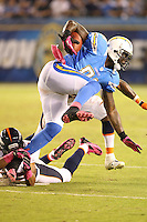 10/15/12 San Diego, CA: San Diego Chargers tight end Randy McMichael #81 during an NFL game played between the San Diego Chargers and the Denver Broncos at Qualcomm Stadium. The Broncos defeated the Chargers 35-24.