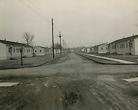 UNDATED..Assisted Housing..Liberty Park..View of Liberty Park - 900 Negro Essential War Workers..An FPHA Project operated by the Housing Authority of the City of Norfolk....NEG#.NRHA# 628..