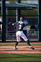 Brennan Holt during the Under Armour All-America Tournament powered by Baseball Factory on January 18, 2020 at Sloan Park in Mesa, Arizona.  (Zachary Lucy/Four Seam Images)