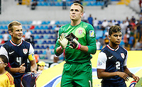 USA's goalkeeper Cody Cropper (C) during their FIFA U-20 World Cup Turkey 2013 Group Stage Group A soccer match Ghana betwen USA at the Kadir Has stadium in Kayseri on June 27, 2013. Photo by Aykut AKICI/isiphotos.com