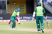 Quinton de Kock  (South Africa) plays a glorious straight drive for four during South Africa vs West Indies, ICC World Cup Warm-Up Match Cricket at the Bristol County Ground on 26th May 2019