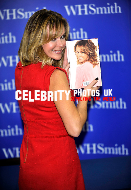 Amanda Holden book signing at WH Smiths Milton Keynes 2nd november 2012 , Photo by Brian jordan