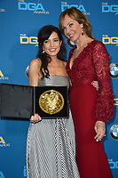 Allison Janney &amp; Reed Morano at the 70th Annual Directors Guild Awards at the Beverly Hilton Hotel, Beverly Hills, USA 03 Feb. 2018<br /> Picture: Paul Smith/Featureflash/SilverHub 0208 004 5359 sales@silverhubmedia.com