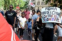 """""""Roma non si Chiude"""" per una città solidale contro gli sgomberi"""