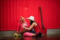 Revellers attend the annual event Comic Con at the Javits center in New York.  09.05.2014. Eduardo Munoz Alvarez/VIEWpress