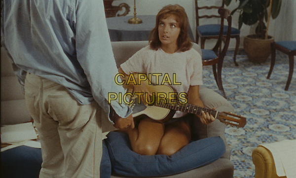Marie Laforet<br /> in Purple Noon (1960) <br /> (Plein soleil)<br /> *Filmstill - Editorial Use Only*<br /> CAP/NFS<br /> Image supplied by Capital Pictures