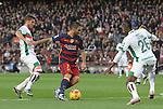 09.01.2016 Camp Nou, Barcelona, Spain. La Liga day 19 march between FC Barcelona and Granada. Arda